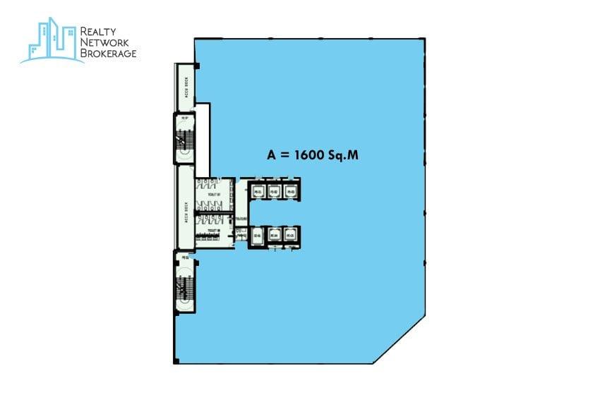 1600-sqm-office-for-rent-bare-shell-floorplan