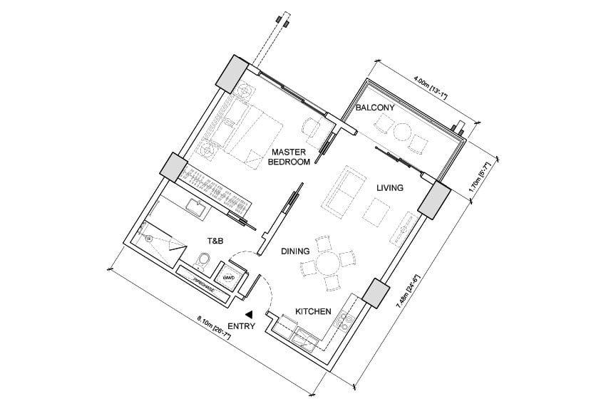 1-bedroom-in-aruga-resort-and-residences-for-sale-1br-keyplan