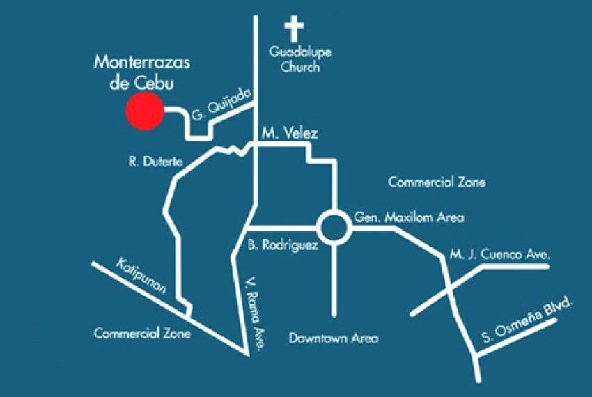 monterrazas-cebu-northridge-lot-for-sale-map