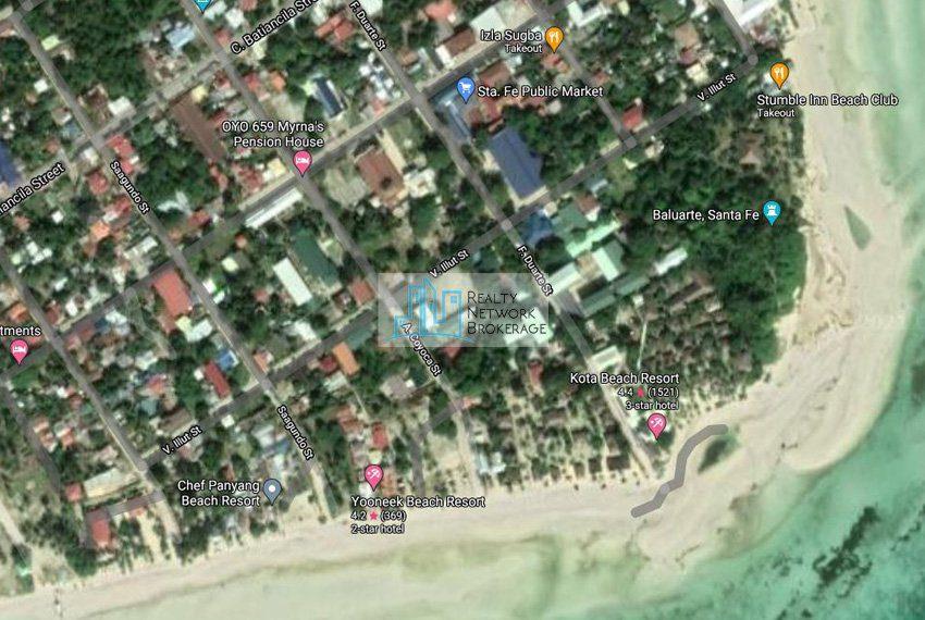santa-fe-bantayan-beach-for-sale-map-location